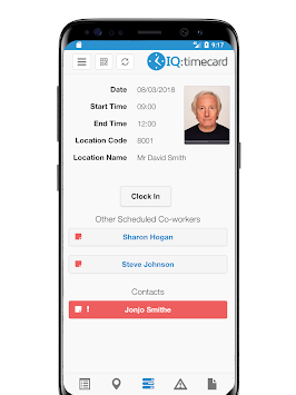 iqtimecard poster iqtimecard poster iqtimecard poster - Time Card App For Android