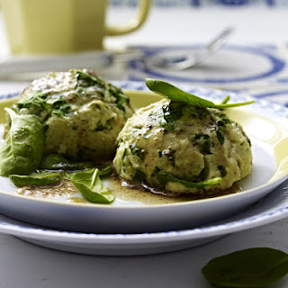 Spinach Dumplings with Parmesan