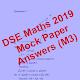 DSE Maths Mock Paper Answer 2019 (m3)-Pap 1 Sec A1 APK