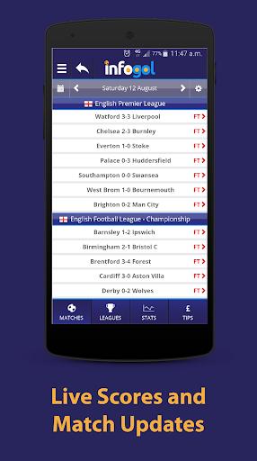 Infogol u2013 Football Scores & Betting Tips 1.0.22 Screenshots 4
