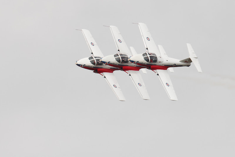 Photo: From the 2012 Waterloo Region air show. I know the long lens compresses distances, and that the perspective here makes them closer than they are...Still... doesn't this just seem TOO close?