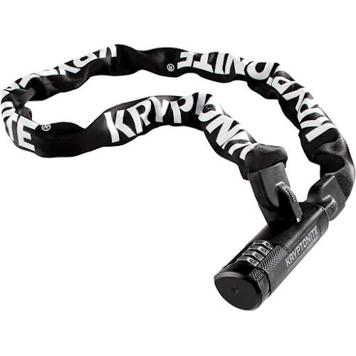 Kryptonite Keeper 712 Chain Lock with Combination: 3.93' (120cm)