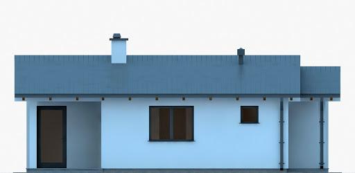 G250 - Budynek rekreacji indywidualnej - Elewacja przednia