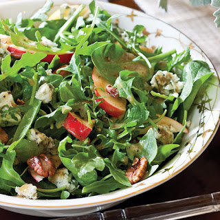 Apple-Pecan Spinach Salad.