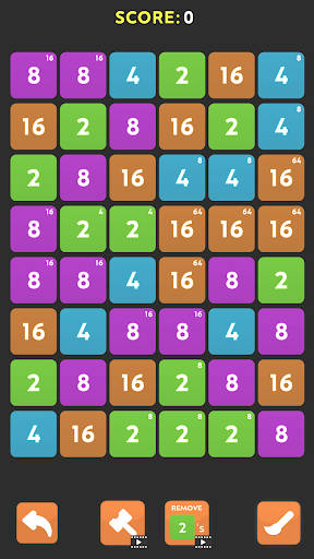 Merge Blast - NO ADS 2048 Puzzle Game android2mod screenshots 8