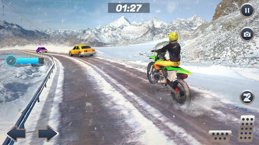 Mountain Bike Snow Moto Racing 2.1 Screenshots 5