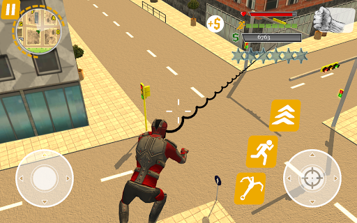 Rope Hero: Crime Busters ойындар (apk) Android/PC/Windows үшін тегін жүктеу screenshot