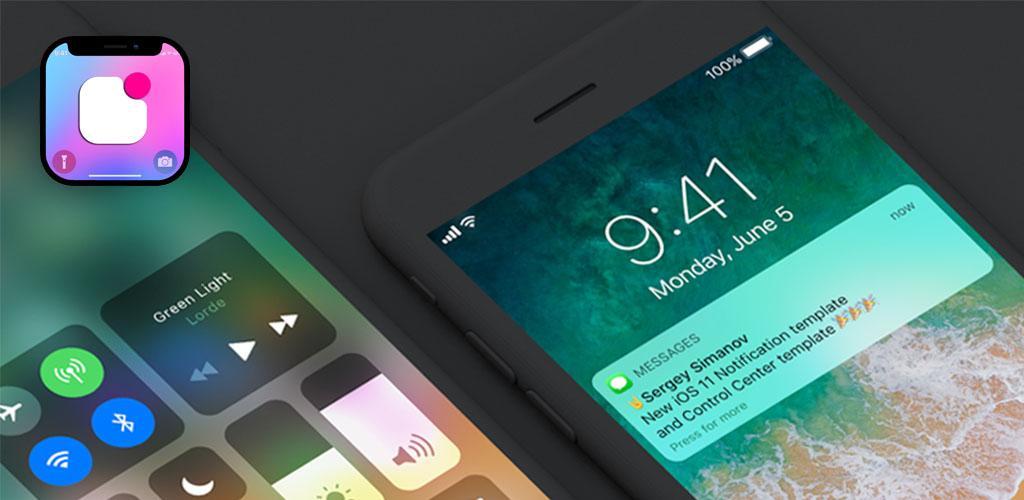 iNoty IOS 11: iNoty & iControl for Phone X inoty_3 0 Apk