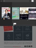 Screenshot of Informations Entreprise