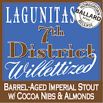 Lagunitas 7th District Willettized W/cocoa, Almonds, & Coconut