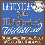 Lagunitas 7th District Willettized W/cocoa, Almonds, & Coconut