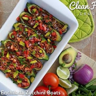 Beef Enchilada Zucchini Boats