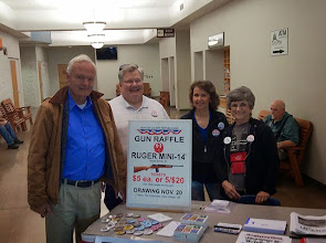 Photo: Art Robinson, candidate for U.S. Congress for Oregon's Fourth District, visits with Benton GOP volunteers