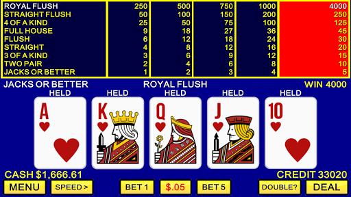 Video Poker ♠️♥️ Classic Las Vegas Casino Games apklade screenshots 1
