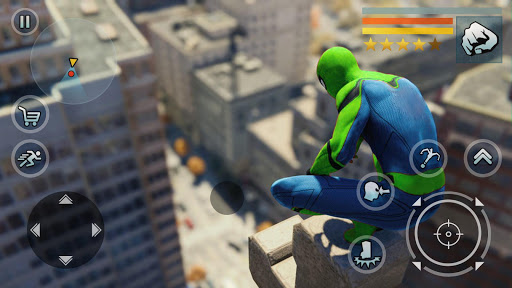 Spider Rope Hero - Vegas Crime city screenshots 23