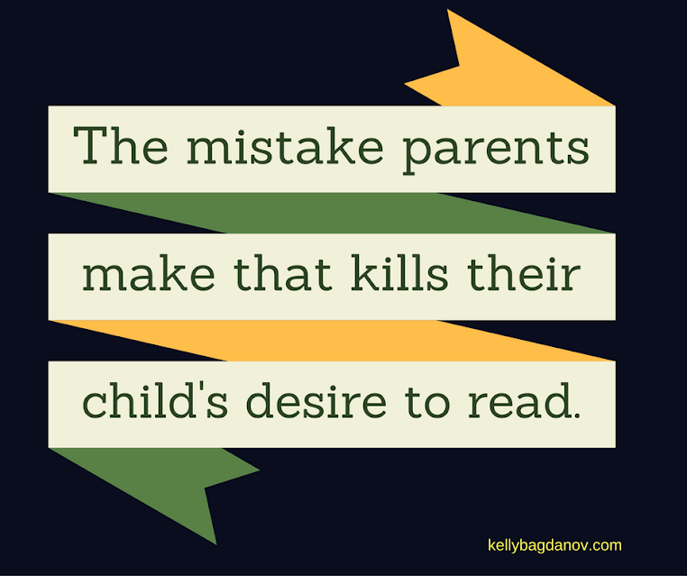 Raising readers is a worthy goal, make sure you don't make this mistake.