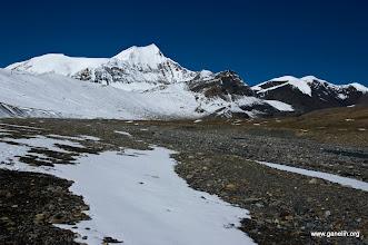Photo: Sita Chuchura Peak. Вид со стороны русла реки перед Yak Kharka не доходя Dhapa pass.