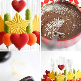 Carbonated Chocolate Lollipops.