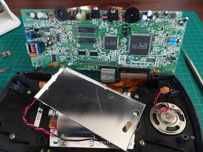 Atari Lynx Hardware Mods | Atari Gamer