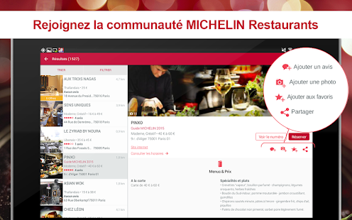 MICHELIN Restaurants- screenshot thumbnail