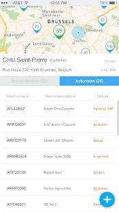 AbbVie Supply Chain Mobile App - náhled