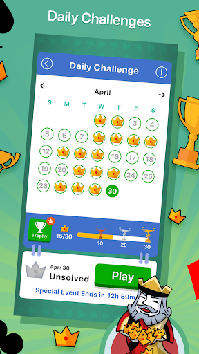 Solitaire apktreat screenshots 2