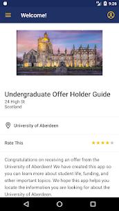University of Aberdeen Guide 1.1.3 Mod APK (Unlock All) 3