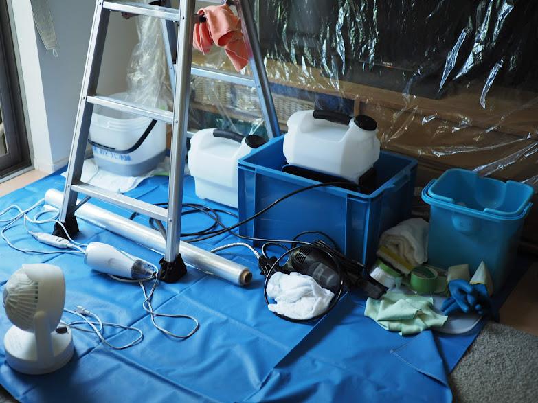 エアコン掃除の道具