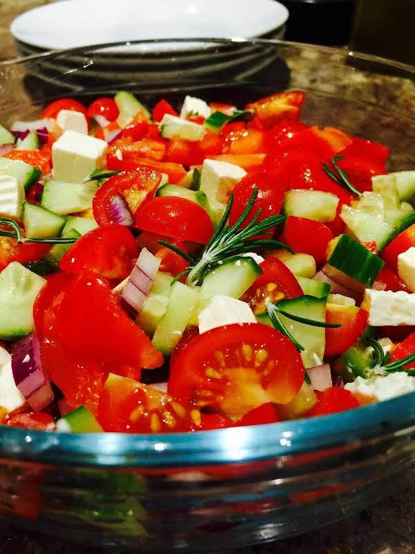 Chunky Feta Cheese Salad Recipe