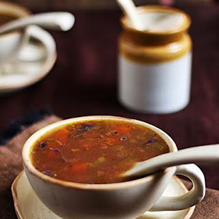 Veg Clear Soup Recipe | Easy Soup Recipes.