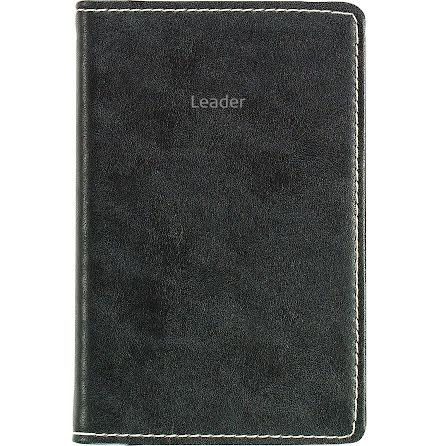 Leader konstläder      svart