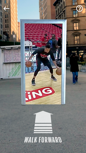 NBA AR Basketball screenshot 4