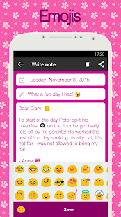 Diary with lock for PC-Windows 7,8,10 and Mac apk screenshot 2