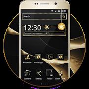 App Gold Black Launcher APK for Windows Phone