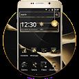 Gold Black Launcher icon