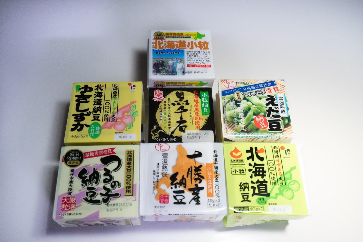 北海道の納豆