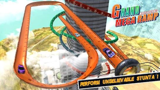 Mega Ramp Car Jumping 2020 7