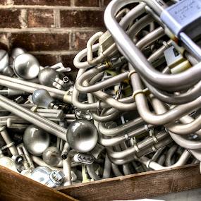 Lightbulbs by Luke Aylen - Artistic Objects Other Objects ( lights, hdr, rubbish, trash, glass, tubes, lightbulbs, abandoned )