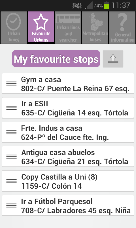 Bus Pucela 🚍 Valladolid Bus- screenshot