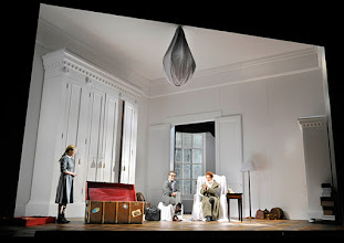 Photo: Wien/  Theater in der Josefstadt: AM ZIEL von Thomas Bernhard. Inszenierung Cesare Lievi. Premiere am 12.3.2015. Therese Lohner, Christian Nickel,  Andrea Jonasson. Foto: Barbara Zeininger