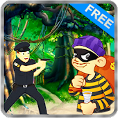 Jungle Prisoner Run Dash 3D