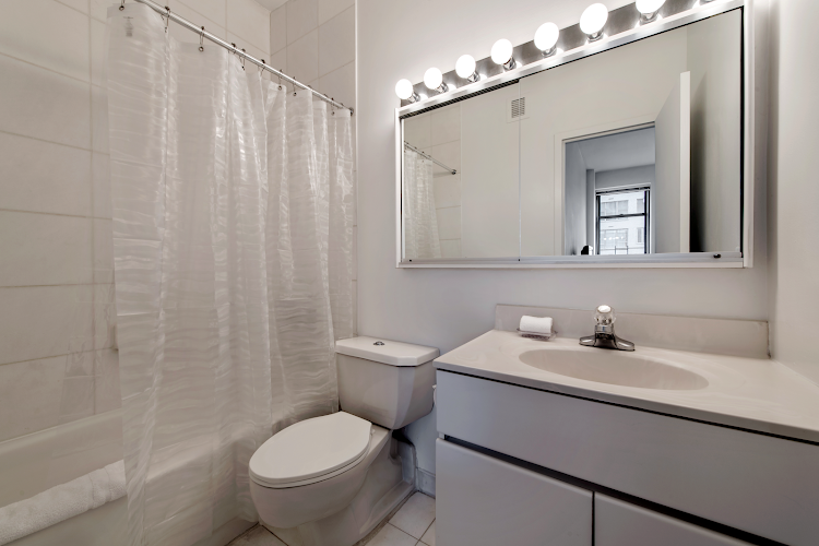 Bathroom at Murray Hill apartment