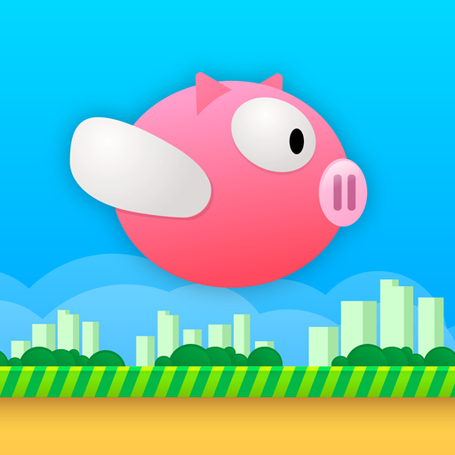 Flappy Piggy 冒險 LOGO-玩APPs