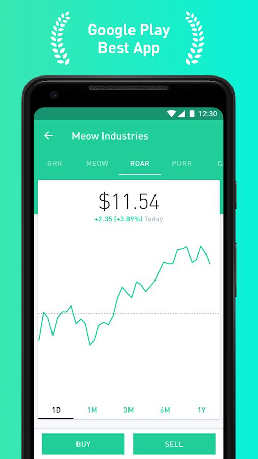 Robinhood stock options