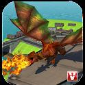 Flying Dragon Mania Simulation icon