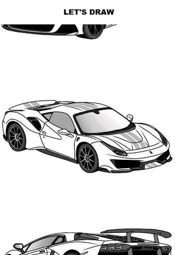 Draw Cars: Super ss1