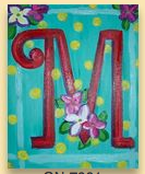 Photo: Flower initial
