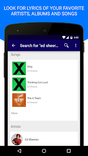 Lyrics Mania - Music Player- screenshot thumbnail