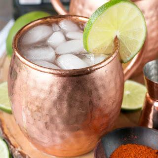 Spicy Mezcal Mule.