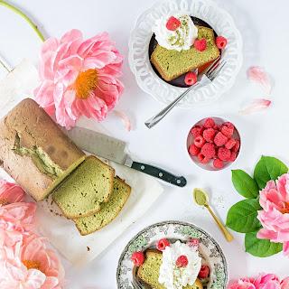 Matcha Green Tea Pound Cake.